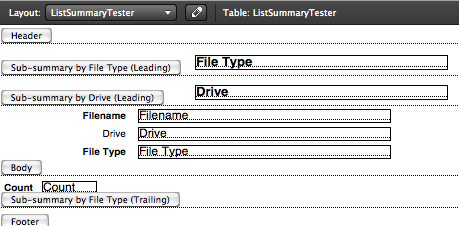 Tableview Layout
