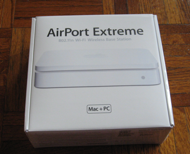 Airport Extreme Box Top