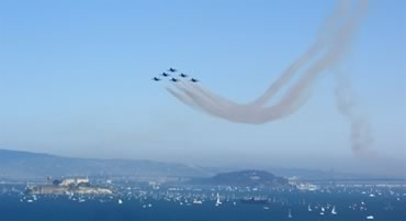 Blue Angels Over Alcatraz