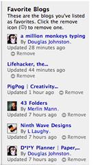 Technorati Blog Favorites