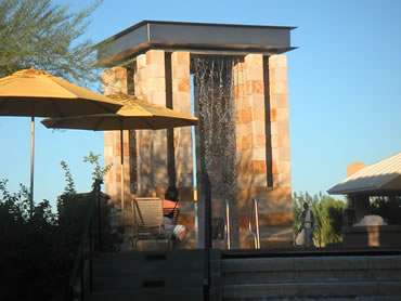 Desert Ridge Pool Shower