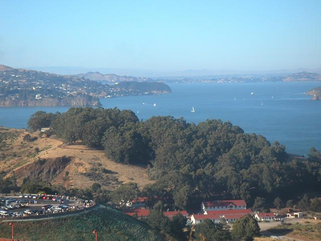 View of Bay from Marin Headlands